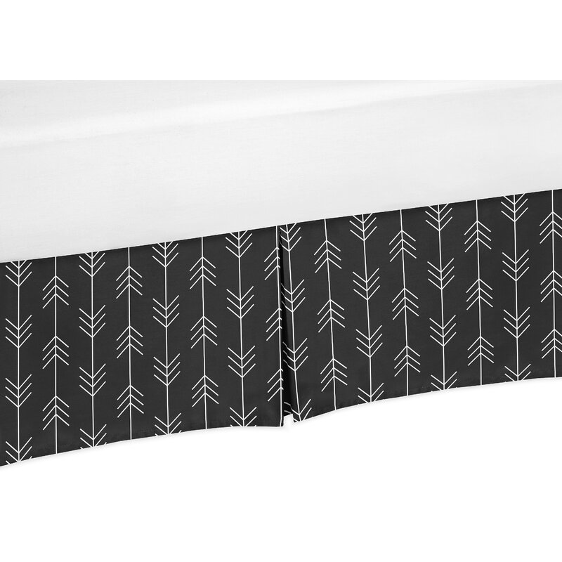 Sweet Jojo Designs Rustic Patch Arrow Print 14 Bed Skirt Reviews Wayfair