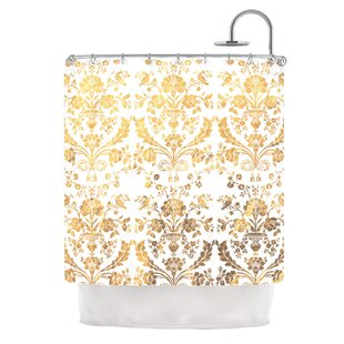 'Baroque' Shower Curtain by East Urban Home