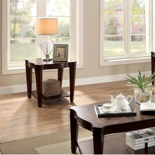 Compare prices Recio End Table by Charlton Home