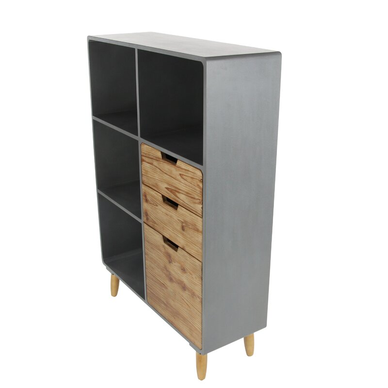 Cole & Grey Storage Shelf 3 Drawer Accent Chest