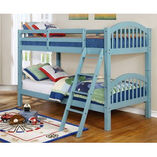 Affordable Warren Twin Over Twin Bunk Bed by Harriet Bee Reviews (2019) & Buyer's Guide