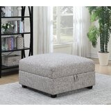 Arsyaditama 39 Square Storage Ottoman by Latitude Run®