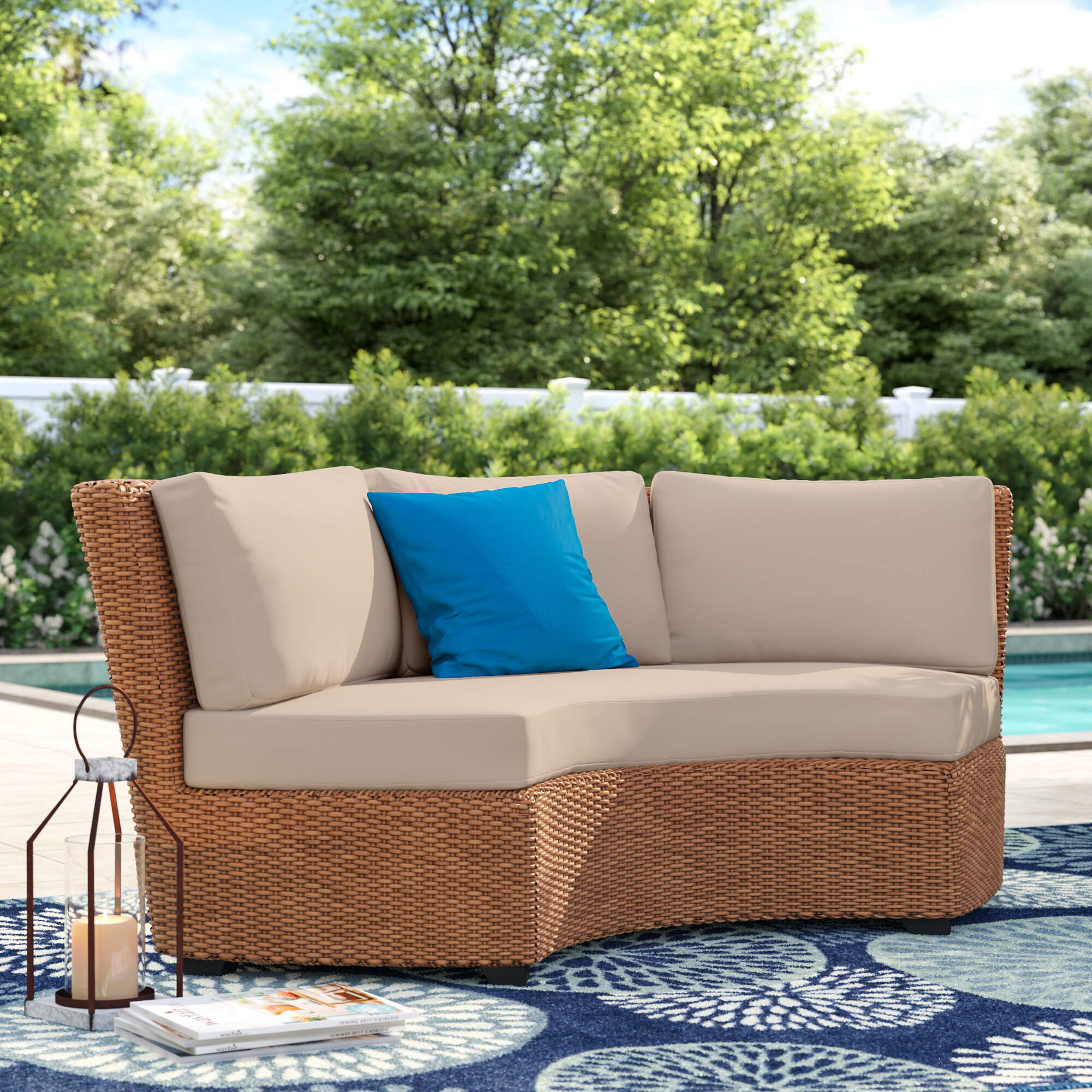 Sol 72 Outdoor Merlyn Indoor Outdoor Cushion Cover Wayfair