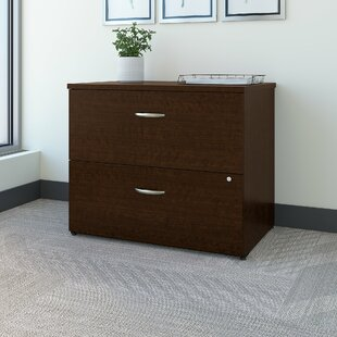Bush Business Furniture Easy Office 2-Drawer Lateral Filing Cabinet