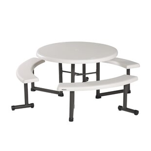 Lifetime Round Steel Picnic Table