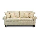 Elizabeth 89 Round Arm Sofa by Piedmont Furniture