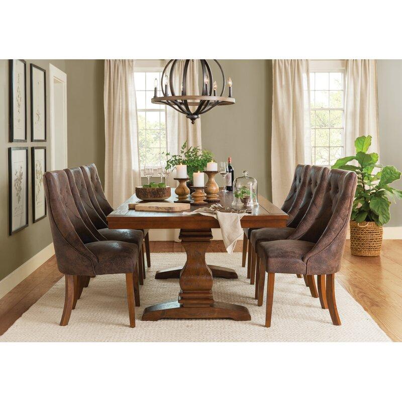 Merveilleux Parfondeval Extendable Wood Dining Table