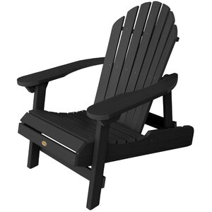 Amiya Traditional Folding & Reclining Adirondack Chair