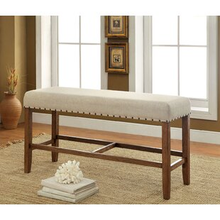 Shaniya Upholstered Bench by One Allium Way