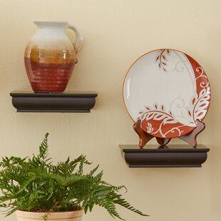 Cool 2 Piece Wall Shelf Set (Set of 2)
