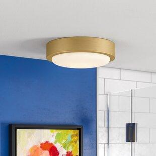 Ebern Designs Ascella 2-Light Flush Mount