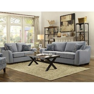 Alcott Hill Hefley 2 Piece Living Room Set
