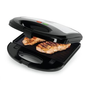 3-in-1 Grill Sandwich and Waffle Maker