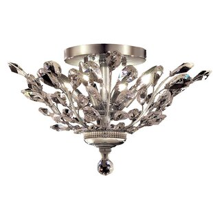 Rosdorf Park Gila 4-Light Semi Flush Mount