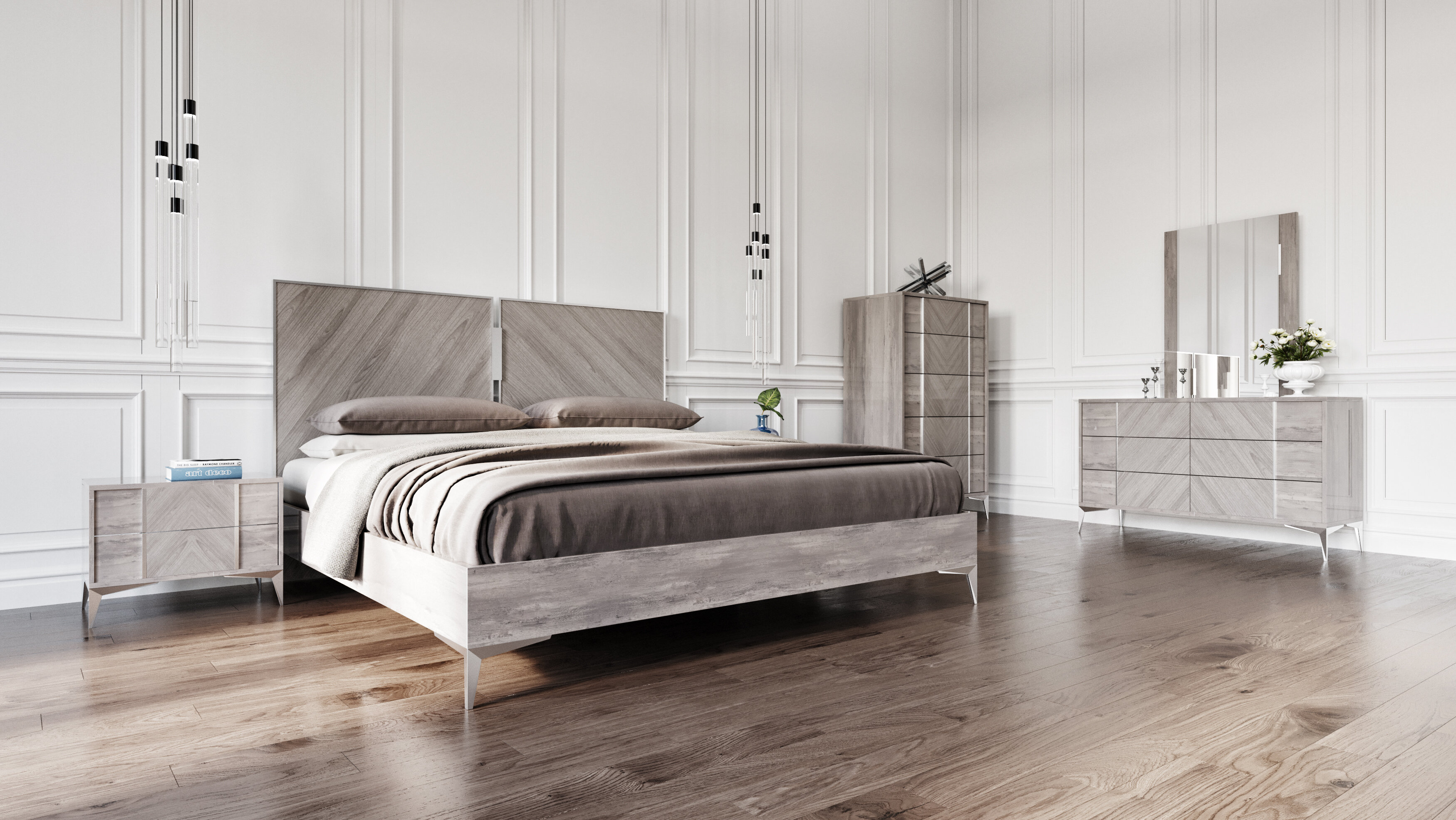 Labombard Platform 3 Piece Platform Bedroom Set