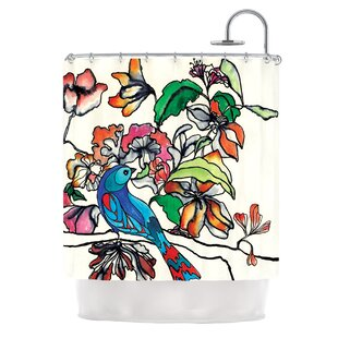 Magic Garden Single Shower Curtain