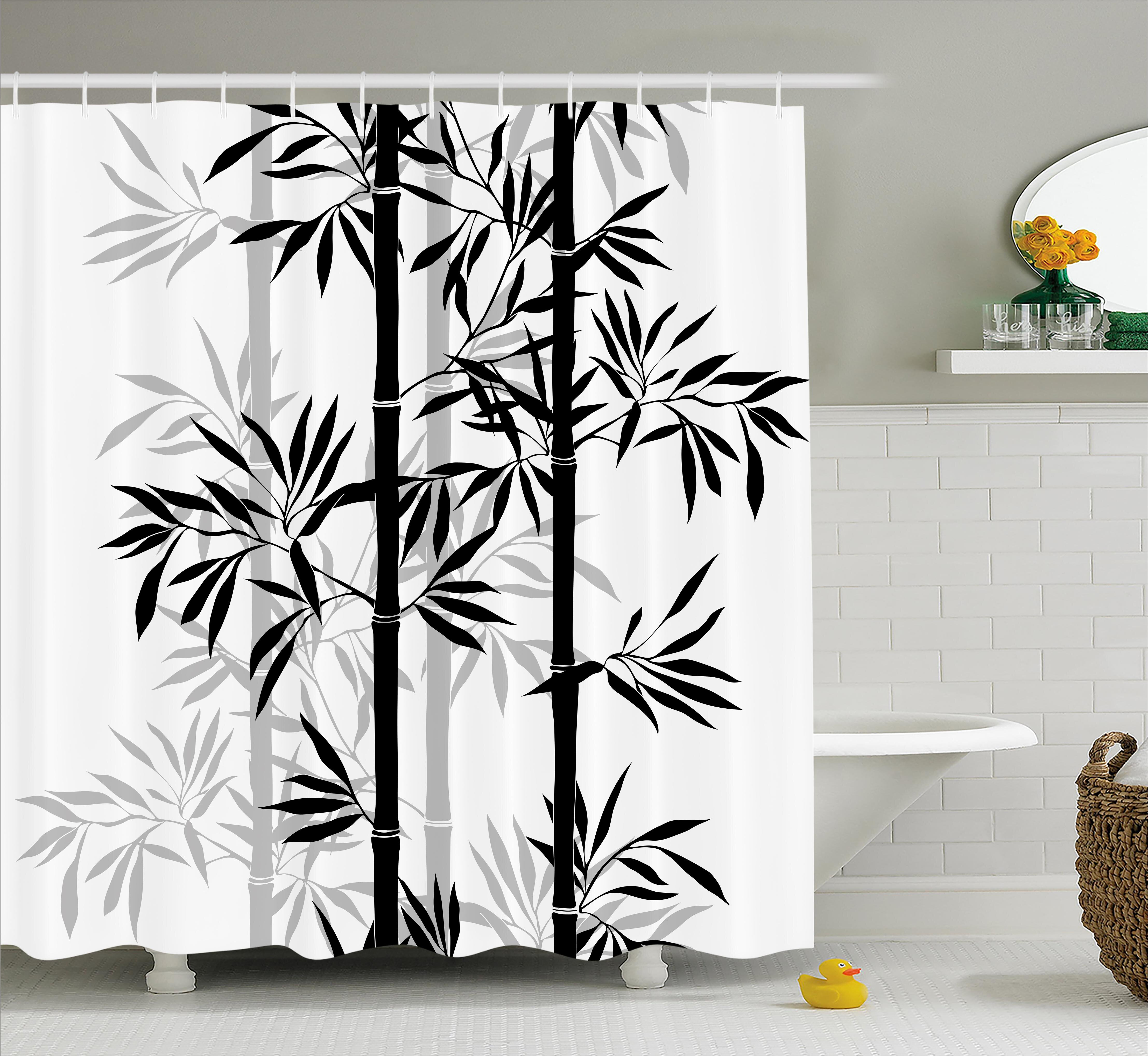 Bloomsbury Market Basil Bamboo Tree Leaves Zen Shower Curtain ...