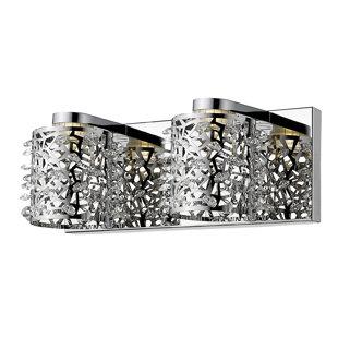 Kimberlee 2-Light LED Vanity Light By Mercer41