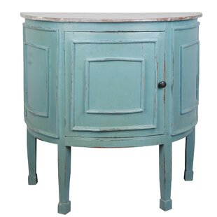 Wellfleet Half Round Accent Cabinet by Rosecliff Heights