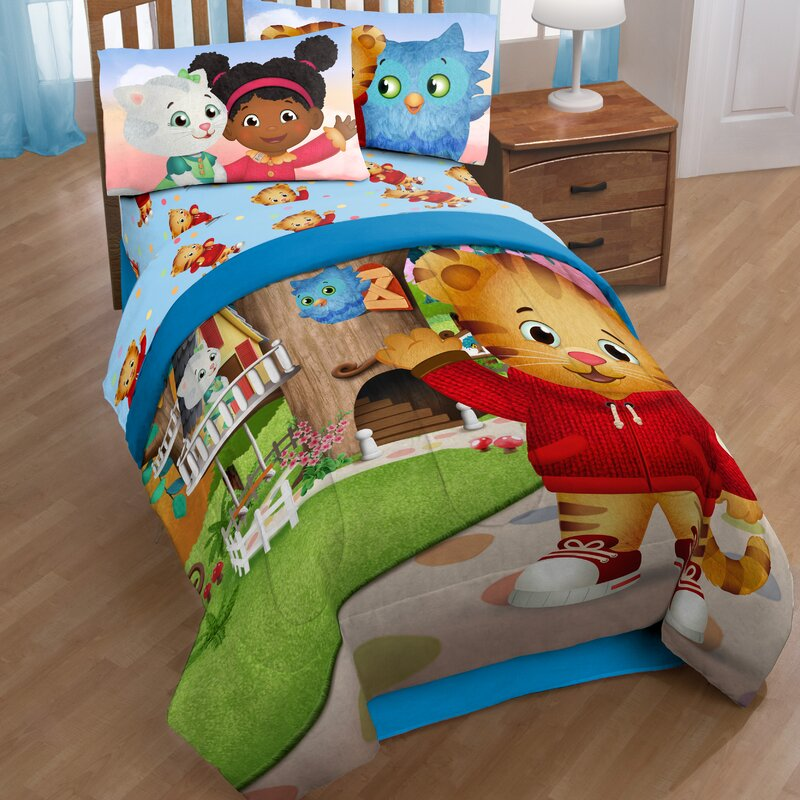 Daniel Tiger Crib Bedding Baby Nursery Target Disney