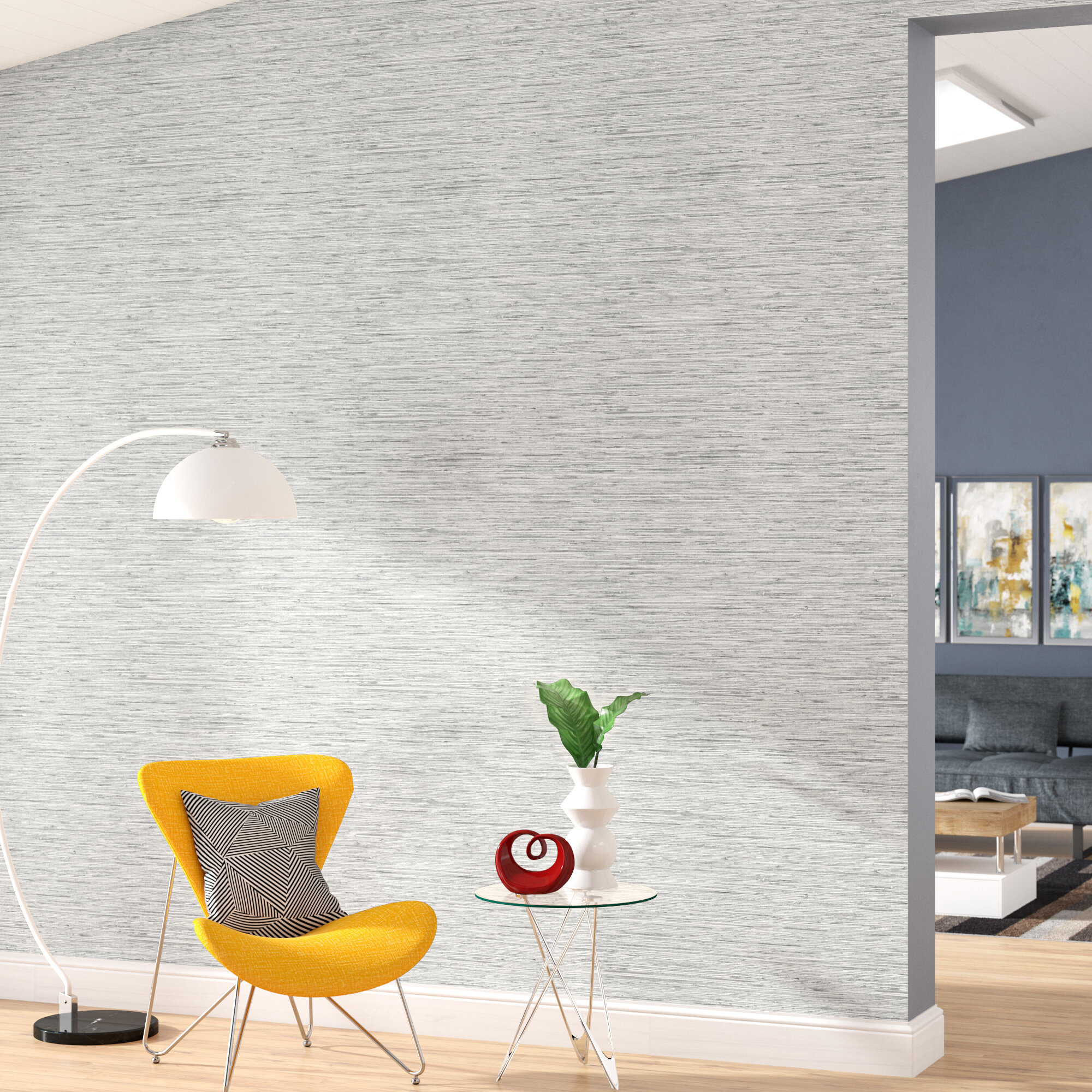 Modern Contemporary Self Adhesive Wallpaper You Ll Love In 2020 Wayfair