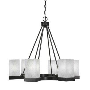 Ebern Designs Karson 6-Light Shaded Chandelier
