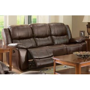 Joseph Dual Reclining Sofa Red Barrel Studio
