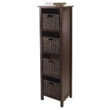 Champlain 4 Drawers Storage Shelf by Three Posts