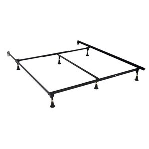 queen bed frames youll love wayfair - Basic Metal Bed Frame