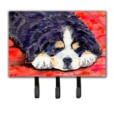 Bernese Mountain Dog Leash Holder and Key Hook by Caroline's Treasures