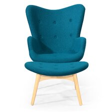 Contour Lounge Chair and Ottoman by Kardiel
