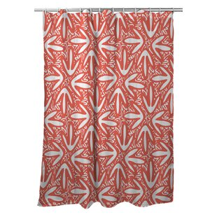 Tribal Lagoon Single Shower Curtain