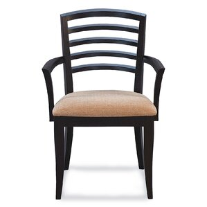 Sofian Arm Chair in Domino by Latitude Run