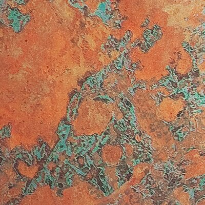 Fasade Traditional Style Ten 2 Ft X 4 Ft Glue Up Ceiling Tile In Copper Fantasy Wayfair
