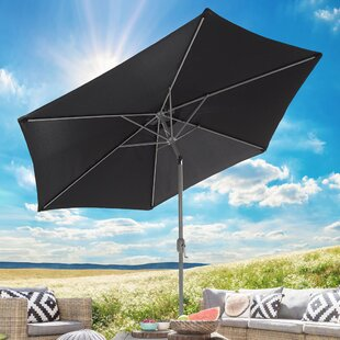 Crowell 2.7m Traditional Parasol By Freeport Park