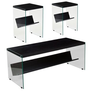 Casey 3 Piece Coffee Table Set