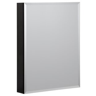 23 x 30 Recessed or Surface Mount Frameless Medicine Cabinet with 3 Adjustable Shelves by Hazelwood Home