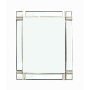 House of Hampton Carmon Wooden Accent Mirror
