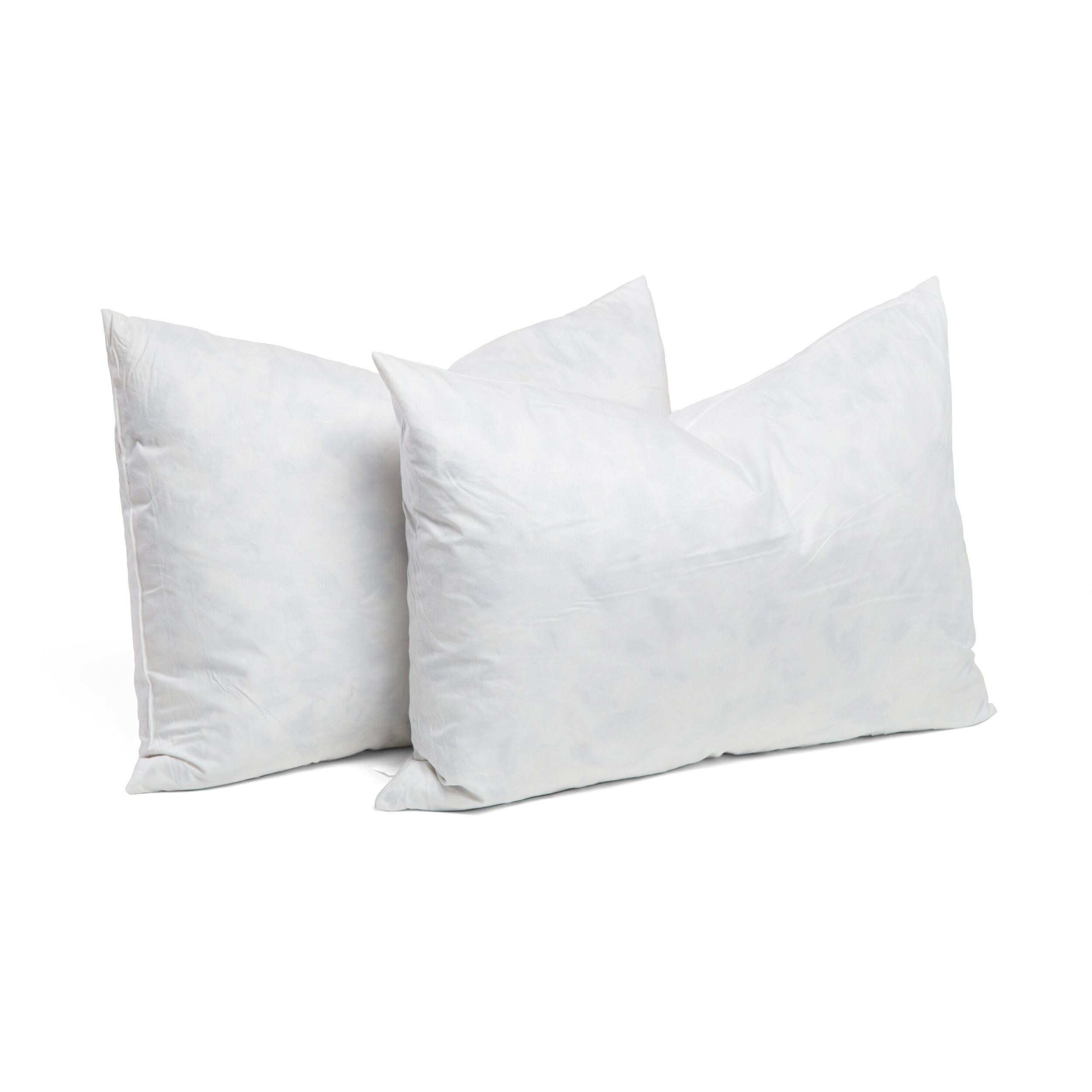 bath love wayfair inserts pillows bed of you allergen beautyrest ll set barrier pillow down polyfill