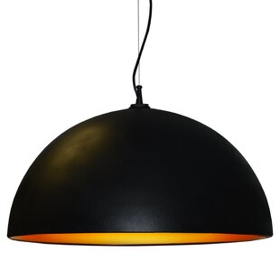 Becking 3-Light Dome Pendant