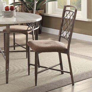 Charlton Home Bedfordshire Fabric Side Chair (Set of 2)