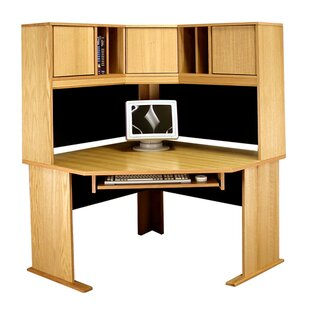Office Modulars Computer Desk With Hutch by Rush Furniture 2019 Sale