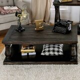 Vanessa Floor Shelf Coffee Table with Storage by One Allium Way®