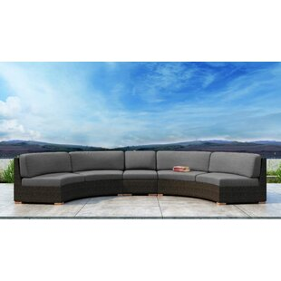 Glen Ellyn 3 Piece Sectional Set with Sunbrella Cushion