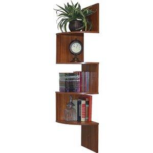 Contemporary Corner Shelf modern & contemporary floating corner shelf | allmodern