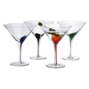Rosenberry Splash Martini 12 oz. Cocktail Glass