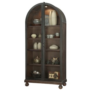 Canora Grey Braham Lighted Curio Cabinet
