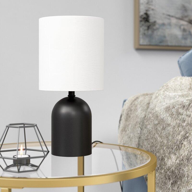 Mercer41 Lynde 13 25 Bedside Table Lamp Wayfair