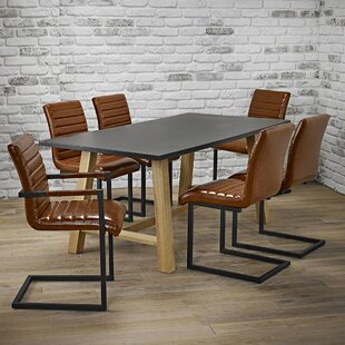 Brienne Dining Set With 6 Chairs By Ebern Designs