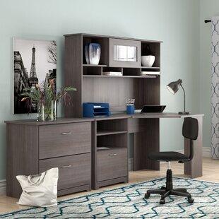 Red Barrel Studio Hillsdale 3 Piece L-Shape Desk Office Suite